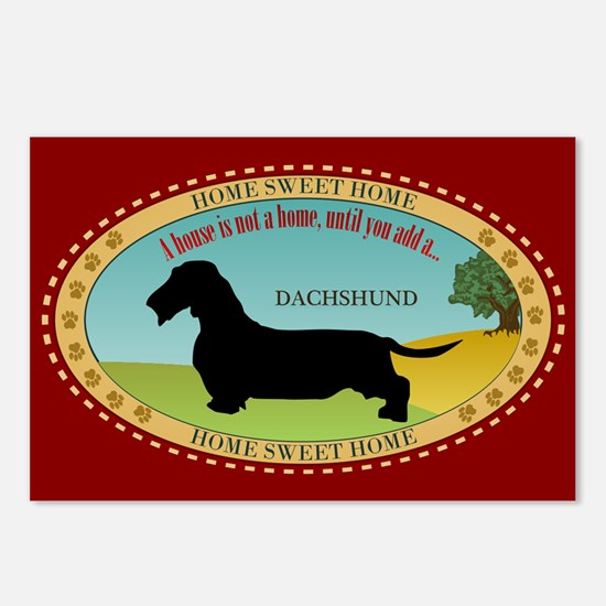 Dachshund [wire-haired] Postcards (Package of 8)
