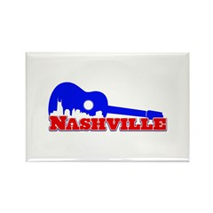Nashville Rectangle Magnet (10 pack)