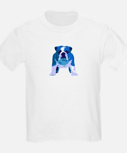 English Bulldog Pop Art T-Shirt