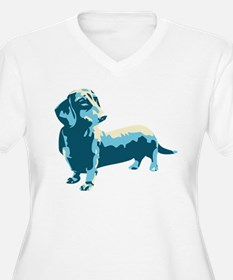 Dachshund Pop Art Dog T-Shirt