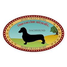 Dachshund [smooth] Decal