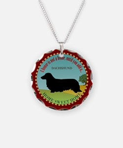 Dachshund [long-haired] Necklace