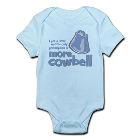 More Cowbell Infant Bodysuit