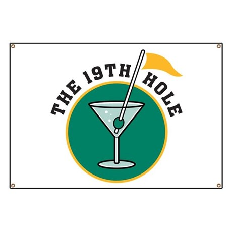 19th hole Banner