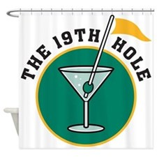 19th hole Shower Curtain