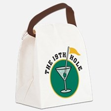 19th hole Canvas Lunch Bag