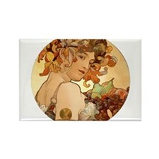 round mucha.png Rectangle Magnet