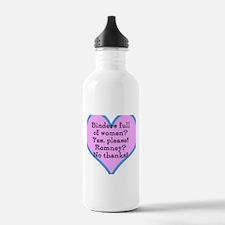 Cool Women binder Water Bottle
