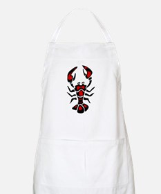 Graphic Lobster BBQ Apron