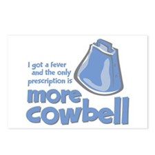 More Cowbell Postcards (Package of 8)
