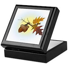 Autumn Oak Keepsake Box