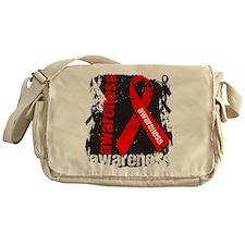 Grunge Heart Disease Messenger Bag