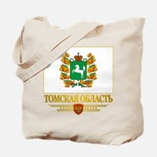 Tomsk Oblast Flag Tote Bag