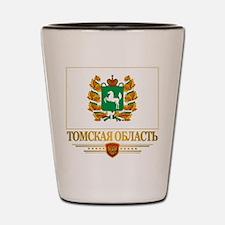 Tomsk Oblast Flag Shot Glass