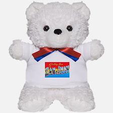 San Juan Puerto Rico Greetings Teddy Bear