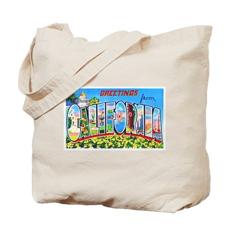California Greetings Tote Bag