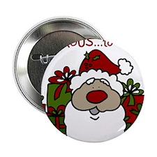 "Generous Santa 2.25"" Button"