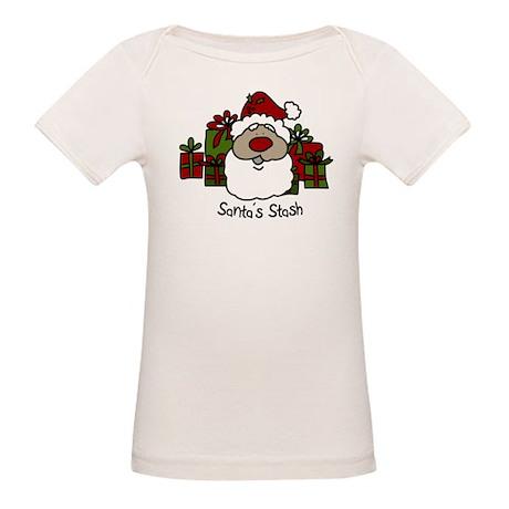 Santas Stash Organic Baby T-Shirt