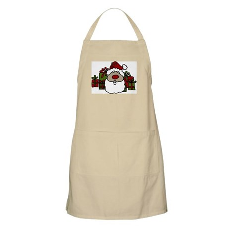 Santa With Gifts Apron