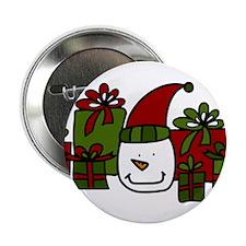 "Snowman Gifts 2.25"" Button"
