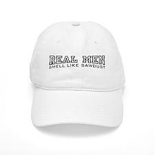 Real Men Smell Like Sawdust Baseball Cap
