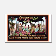 Wisconsin Greetings Car Magnet 20 x 12