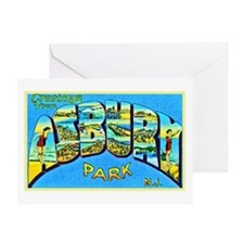 Asbury Park New Jersey Greeting Card