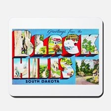 Black Hills South Dakota Mousepad