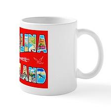 Catalina Island Greetings Mug