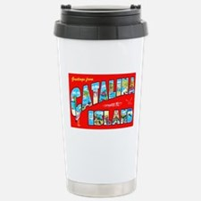 Catalina Island Greetings Stainless Steel Travel M