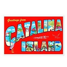 Catalina Island Greetings Postcards (Package of 8)