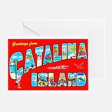 Catalina Island Greetings Greeting Card
