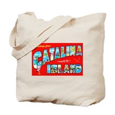 Catalina Island Greetings Tote Bag