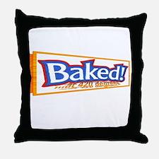 Baked @ 420 degrees Throw Pillow