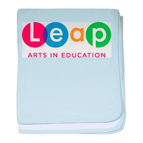 Leap Logo baby blanket