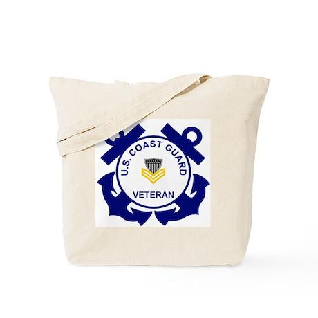 Coast Guard Veteran Tote Bag PO1
