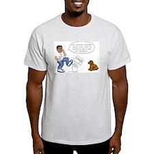 Server Repair Ash Grey T-Shirt