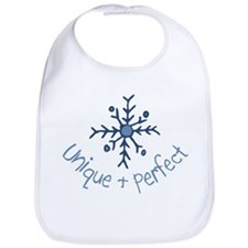 Unique Snowflake Bib