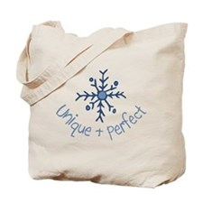 Unique Snowflake Tote Bag