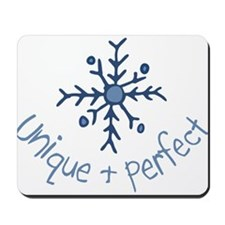 Unique Snowflake Mousepad