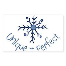 Unique Snowflake Decal