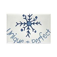 Unique Snowflake Rectangle Magnet