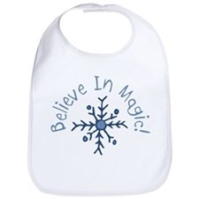 Magic Snowflake Bib
