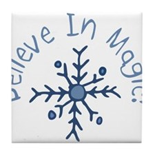 Magic Snowflake Tile Coaster