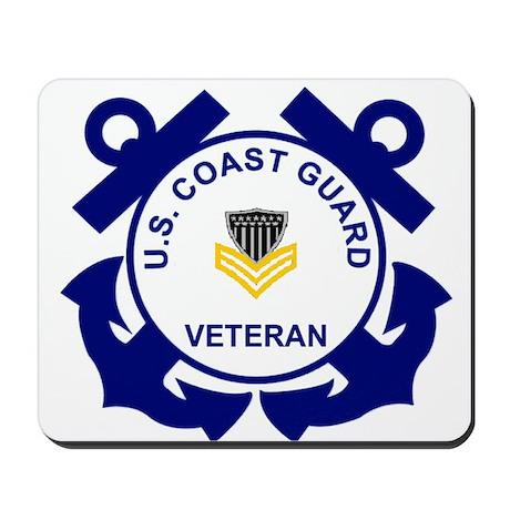 Coast Guard Veteran Mousepad PO1