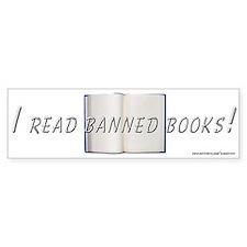 """""""Banned Books"""" Bumper Bumper Sticker"""