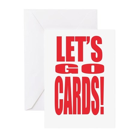 Go Cards Greeting Cards (Pk of 10)