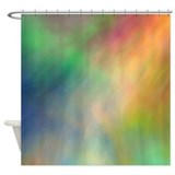 Aurora borealis Shower Curtains