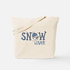 Snow Lover Tote Bag