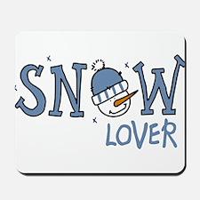 Snow Lover Mousepad